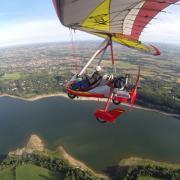 Gros plan sur le lac de St Féréol 23 août 2014