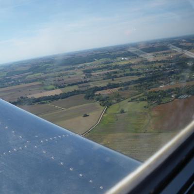 Vu du ciel campagne Tarnaise