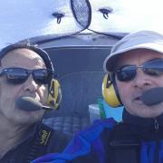 Marc le pilote Philippe le reporter photos