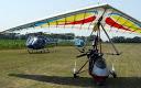 Hélicoptère sur la base ULM de La Ramière 2
