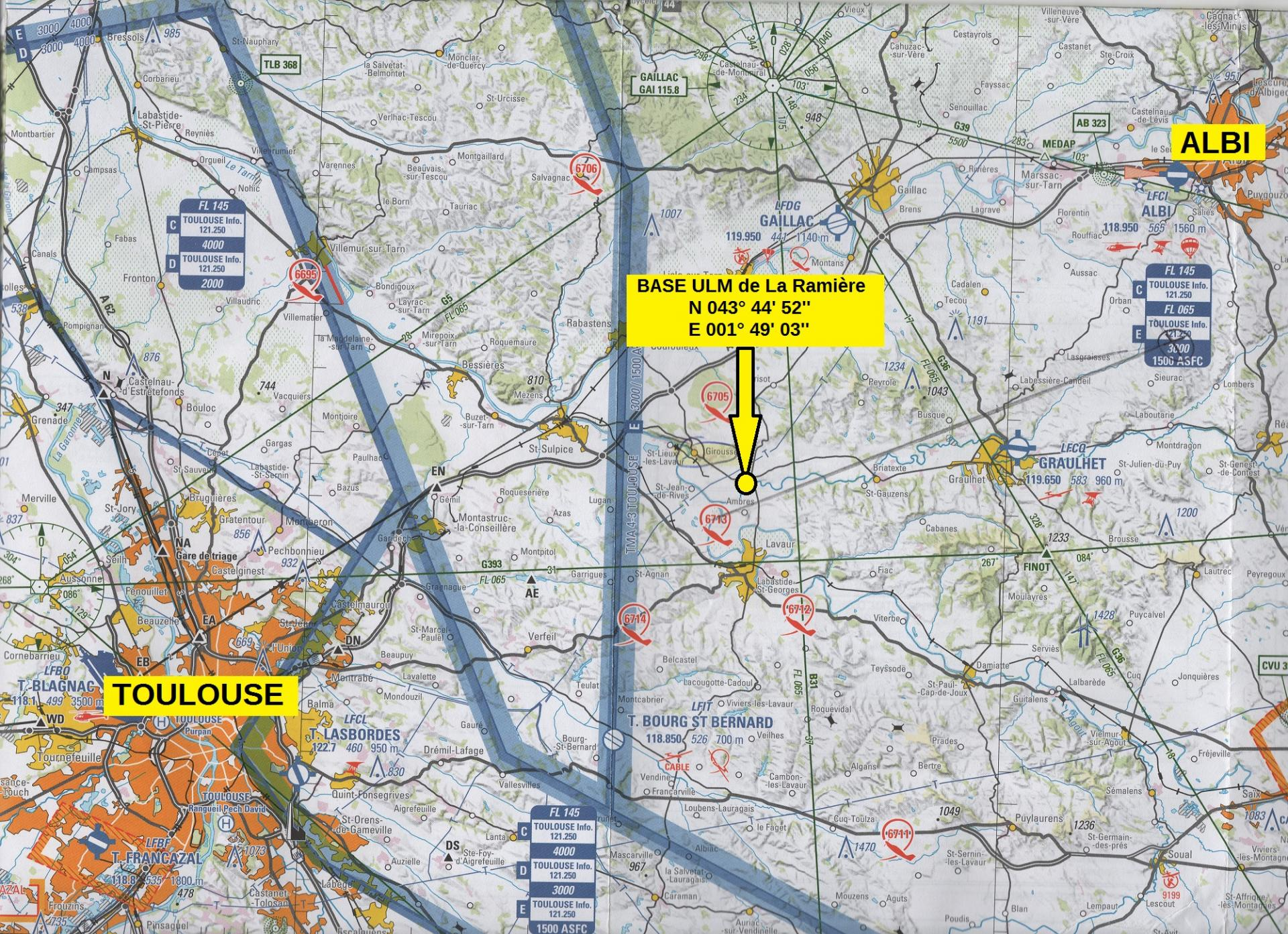 downlaod map ulm toulouse