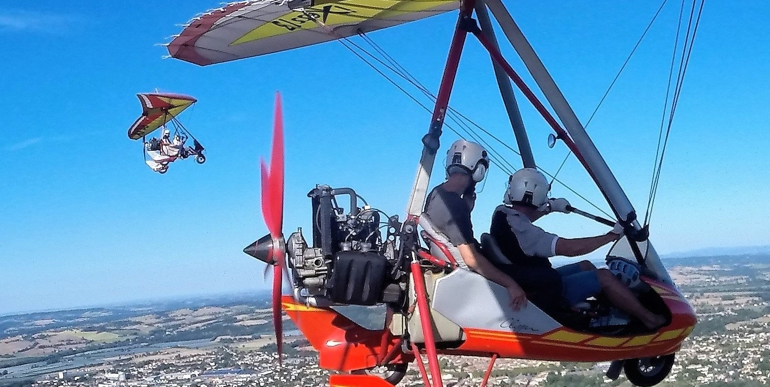 Ultralight Aircraft Base Toulouse and Tarn in France