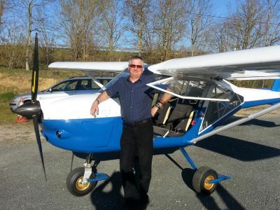 Françis pilote et instructeur Toulouse tarn