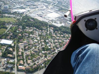 Ulm Photo aérienne en pendulaire