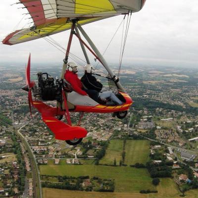 Eric's first flight