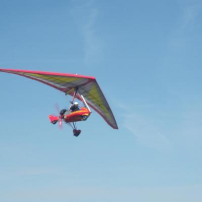 Philippe en vol pendulaire