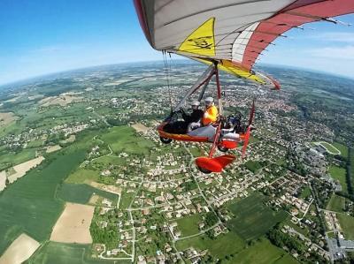 Baptêmes de l'air en ULM pendulaire et petit avion en Midi-Pyrénées Occitanie